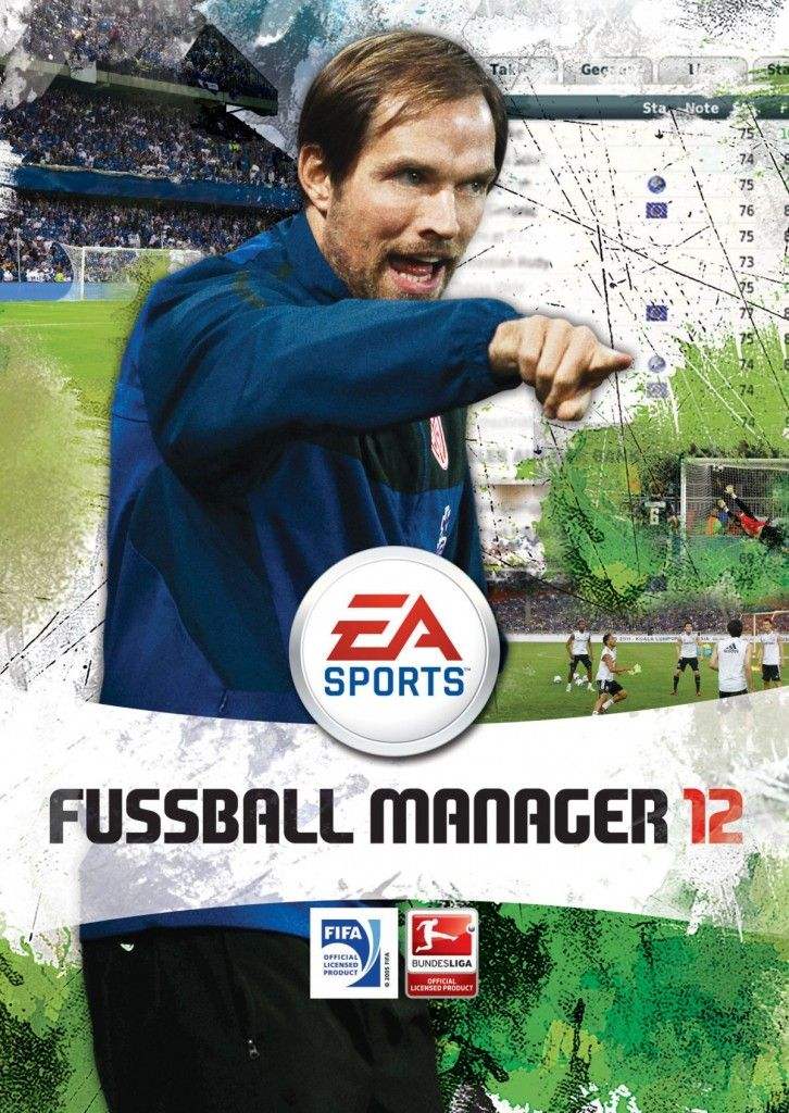 Fussball Manager 12: Mainz 05-Trainer Thomas Tuchel ziert das Cover › Cover, FM 12, fussball manager 12