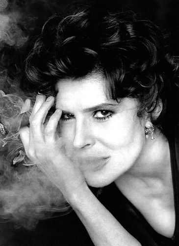 Fanny Ardant, French actress (Photo André Rau)