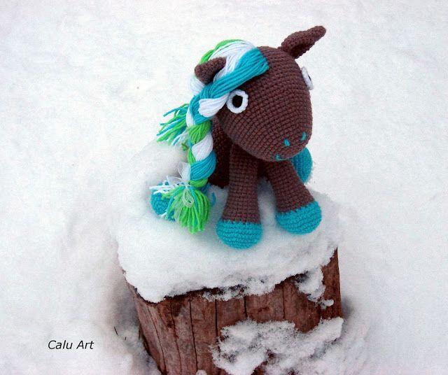 Calu Art: Śnieg....