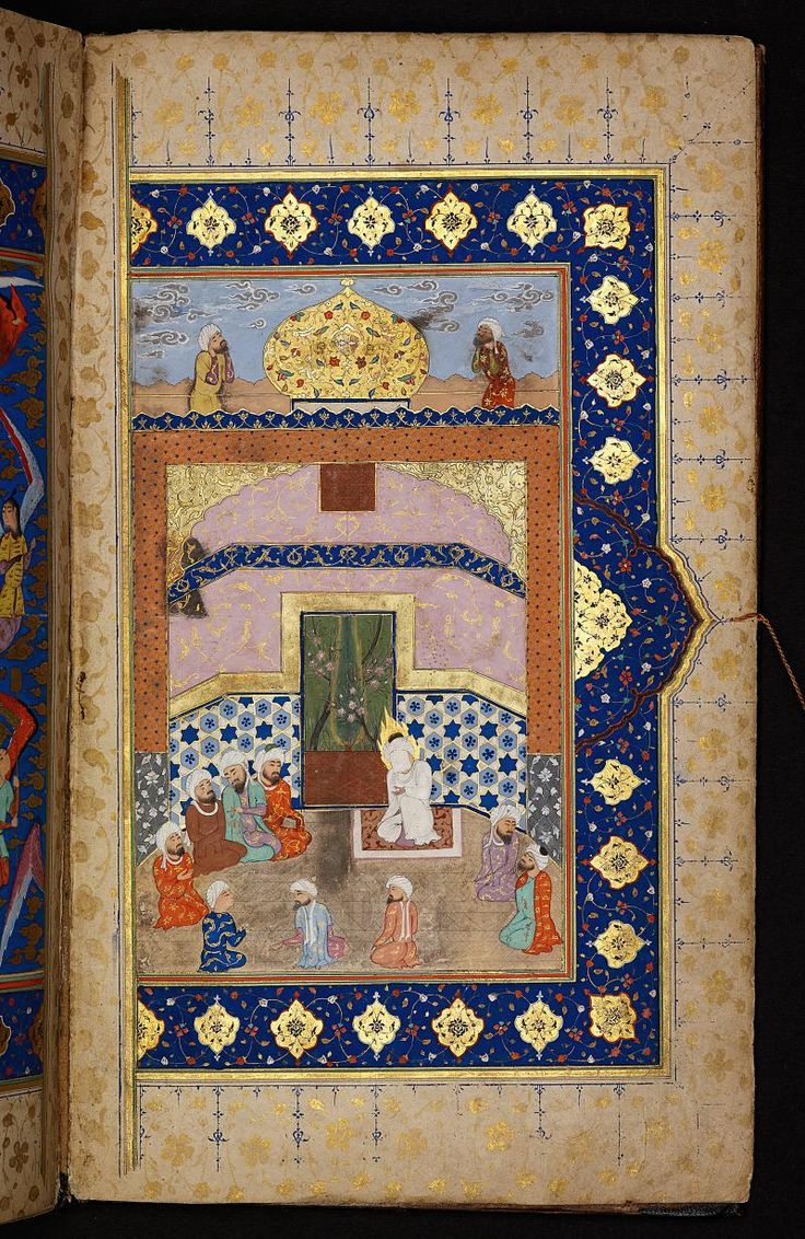 The Prophet Muhammad and his companions. Digital Collections of the Berlin State…