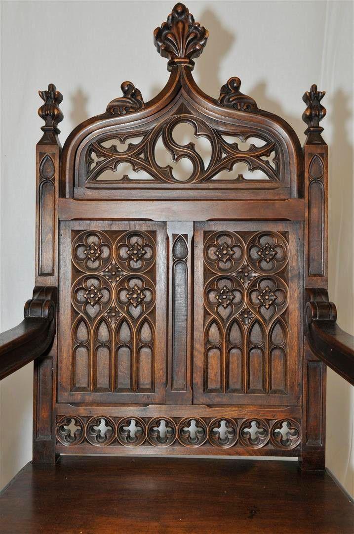die besten 25 gotische m bel ideen auf pinterest gotik. Black Bedroom Furniture Sets. Home Design Ideas