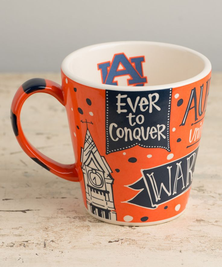 Auburn Tigers // War Eagle collegiate mug