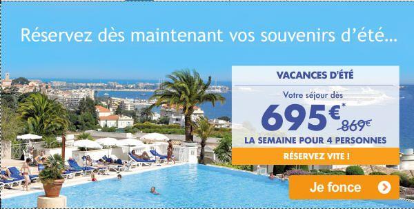 Pierre et Vacances dernière minute Vacances été offre jusqu'à -30% sur les séjours de juin à août à la mer, à la montagne et à l'étranger !