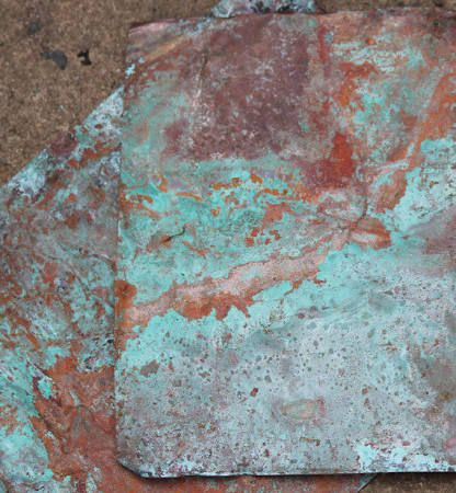 aged copper contact paper - Google Search