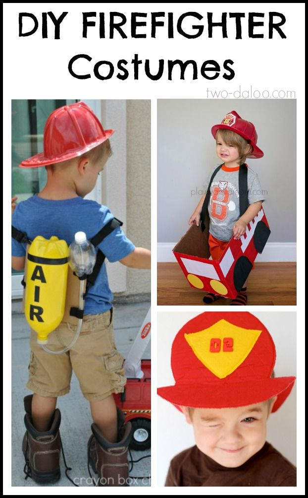 Halloween is just around the corner, so if you have a budding hero on your hands, we've got you covered with some DIY firefighter costume ideas for Halloween or pretend play!