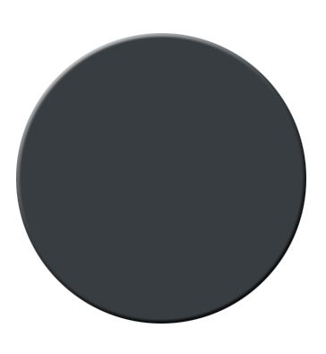 Soot by Benjamin Moore: I used Soot by Benjamin Moore because I saw Anna Dorfman from Door Sixteen use it frequently. And man was she right. This color is a gorgeous charcoal-y black that feels rich and warm- never cold.