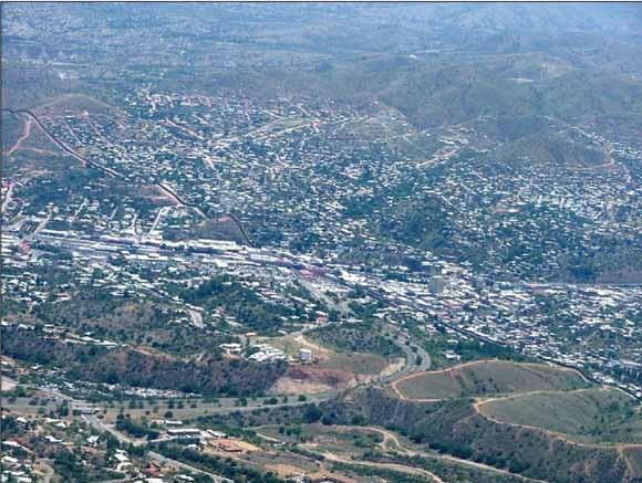 Nogales, Arizona and Nogales, Mexico