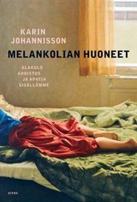 Karin Johannisson: Melankolian huoneet. Kirja on kiehtova katsaus siihen, miten ihmiset ovat tunteneet ja ilmaisseet henkistä kärsimystään eri aikoina. Teoksessa melankolia merkitsee ihmismielen synkkien tunteiden kokonaisuutta. Se jakautuu yhdeksään tunnetilaan eli huoneeseen, joita ovat esimerkiksi uupumus, pelko ja ahdistus. Vaikka melankolian huoneet ovat olleet olemassa aina, suhtautumistapamme niihin on vaihdellut dramaattisesti.