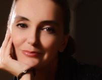 TV personality: Nina Mudrinić by Fedja Papric, via Behance