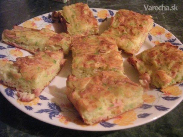 Slaný koláč z tekvice (fotorecept) - Recept