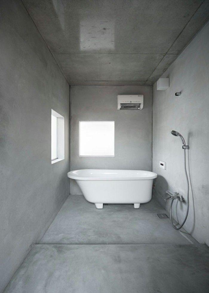 Die besten 25+ Minimalistisches badezimmer Ideen auf Pinterest - leuchte f r badezimmer