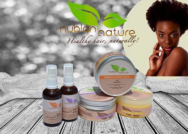 Nubian Nature Healthy hair, naturally!