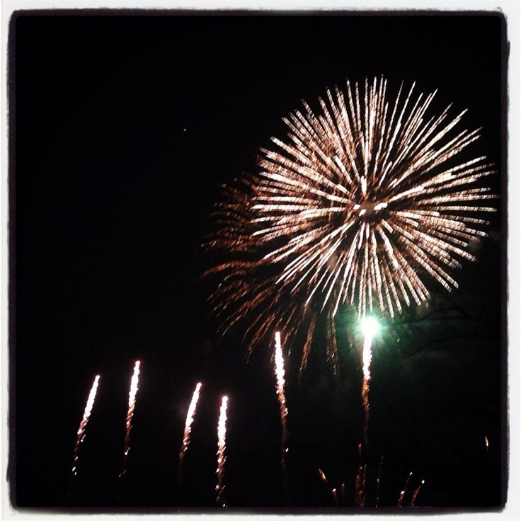 Lovely evening @ Battersea fireworks! I ❤️ fireworks!