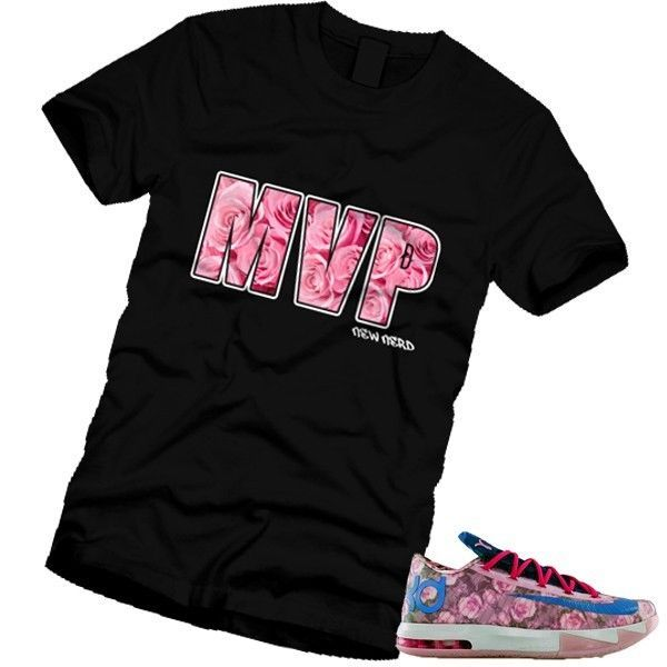 MVP OKC Thunder 35 Durant AUNT PEARL T-Shirt Match KD 6 ROSES YAO NIKE