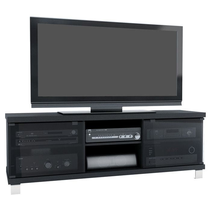 dCOR design TV Stand II- Not sure what size of TV this accommodates...