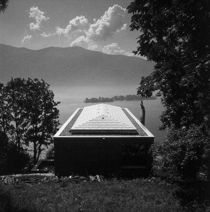 Diener House, Ronco Switzerland | Luigi Snozzi | Photo : Reiner Blunck