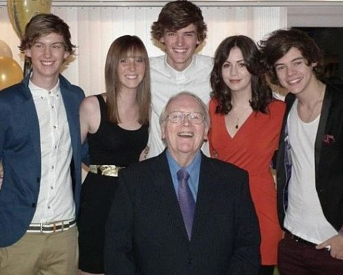 The gorgeous Styles family