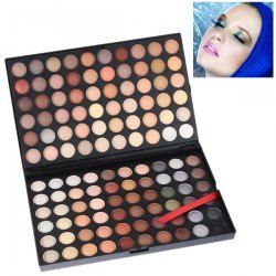 $12.42 NO.04 Multifunction Rectangle Box Makeup 120 Colors Eye Shadows Palette for Ladies