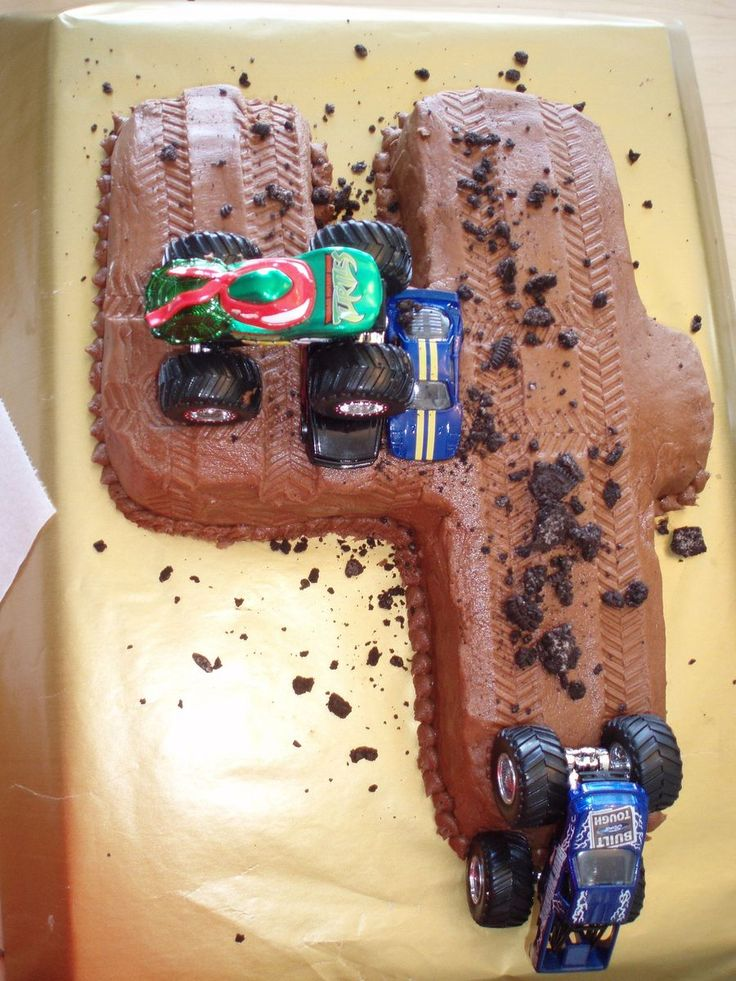 Monster Truck Birthday on Cake Central
