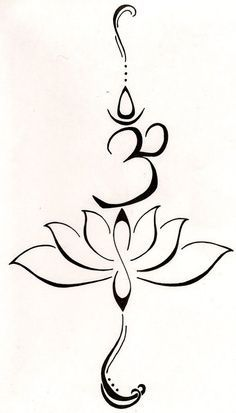 Lotus flower and Om symbol | Art - ClipArt Best - ClipArt Best