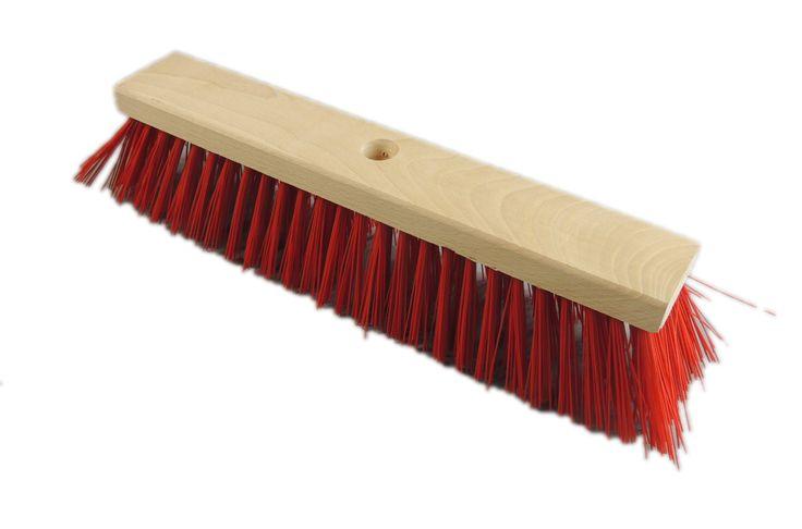 Straßenbesen 30cm PVC rot