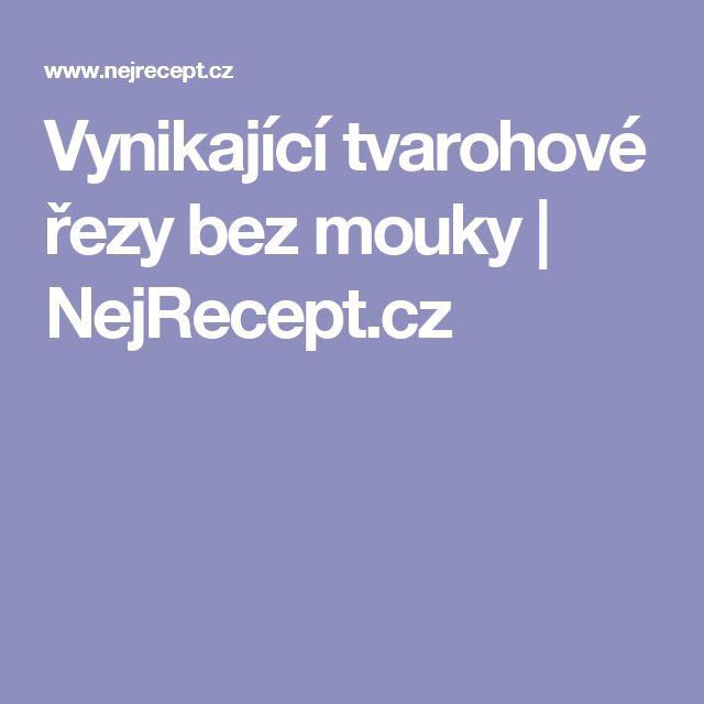 Vynikající tvarohové řezy bez mouky | NejRecept.cz