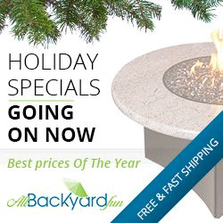 If You Need Patio Furniture Or A Gas Fire Table, Now Is The Time To
