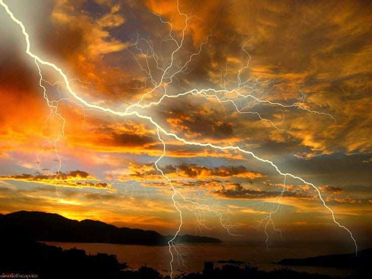 An account of the dangers of lightning
