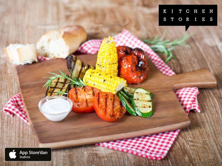 I'm cooking Izgara Sebze Tabağı with @1KitchenStories - Download the app via http://itunes.apple.com/app/id771068291