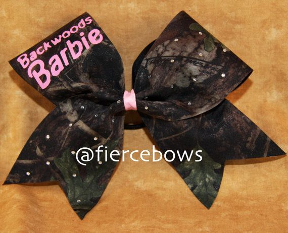 Hey, I found this really awesome Etsy listing at https://www.etsy.com/listing/168598251/backwoods-barbie-cheer-bow