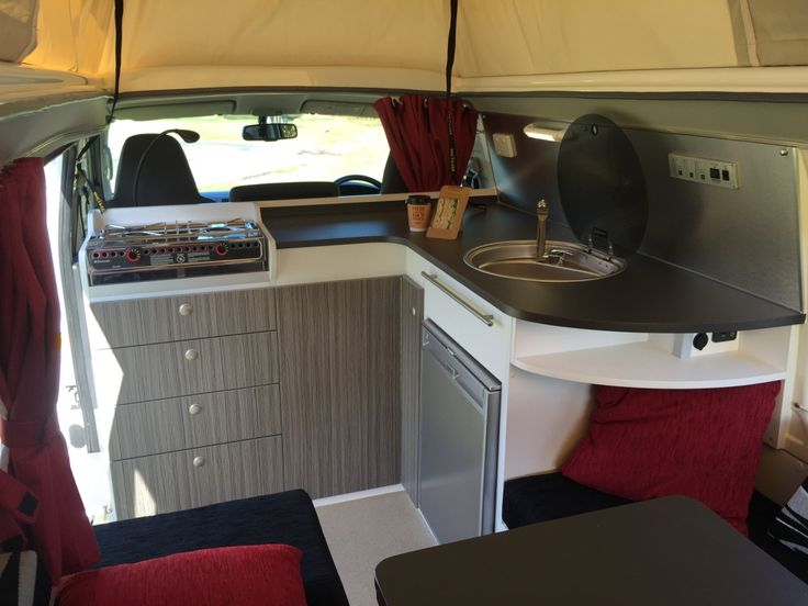 How this for a big kitchen in a small campervan? It's the new Campino, read all about it in Issue 98 of iMotorhome Magazine now!