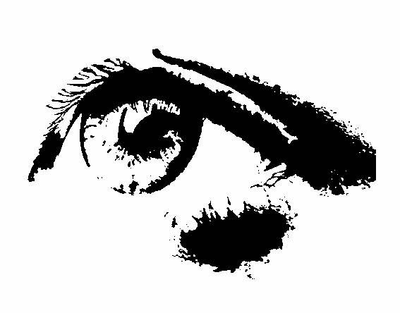 eye stencils - Google Search