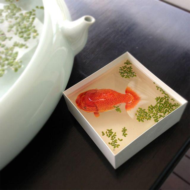 Gli animali acquatici, non in vita, di Keng Lye: ecco dove trovarli.