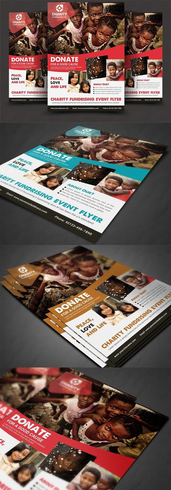 Charity Donation Flyer. Flyer Templates