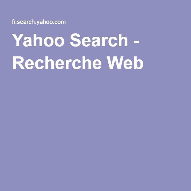 Yahoo Search - Recherche Web