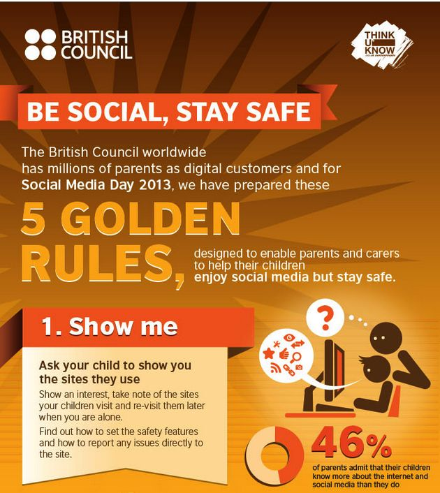 Educational Technology and Mobile Learning: The 5 Golden Rules for Kids Online Safety