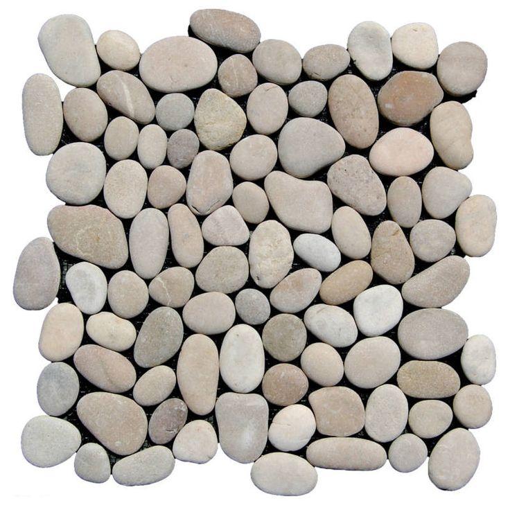Tan Pebble Tile – Pebble Flooring - Perfected - Beyond Tile