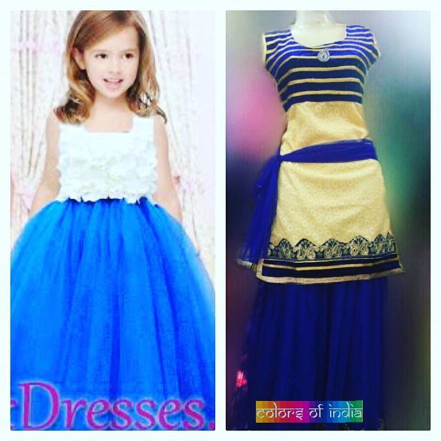 Newly arrived Beautiful cream and blue colored dress for pretty little princess  #indianwear #fashion #fashions #trends #cultures #culture #india #indian #girlswear #ethnic #kids #kidswear  #clothes #clothing #beautiful #lehnga #indiansaree #indiansari #indiansarees #saree #sarees #indianoutfits #designer  #dresses #indiandesigner #style #stylish #celebrity #outfits #littlegirldresses