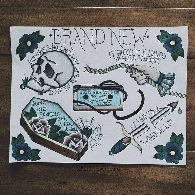 brand new band logo tumblr 44204 notefolio