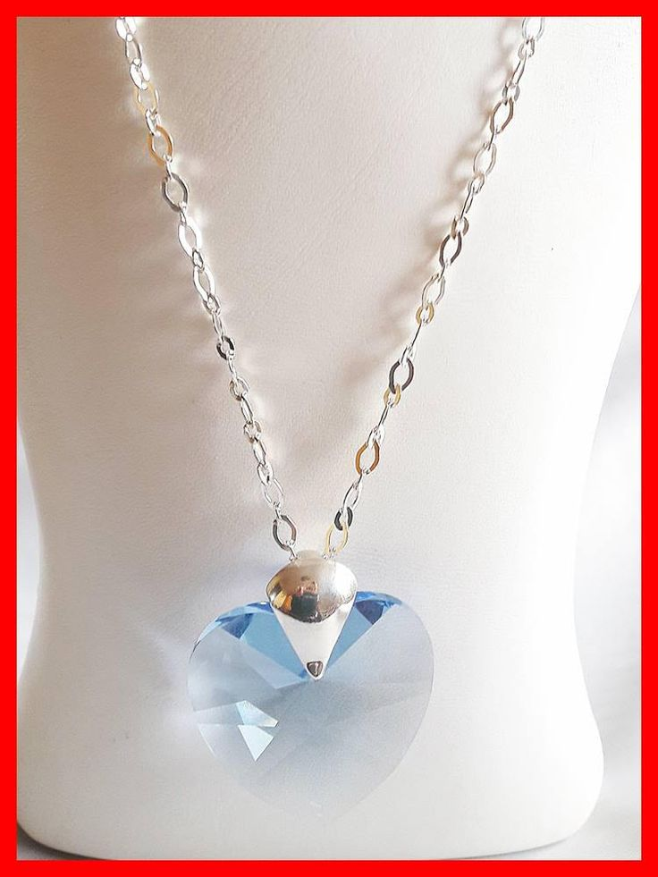 Silver Crystal Elegant Necklace for Woman, Gift for Birthday, Gift for Anniversary, Elegant Gift for Christmas by modotikon on Etsy