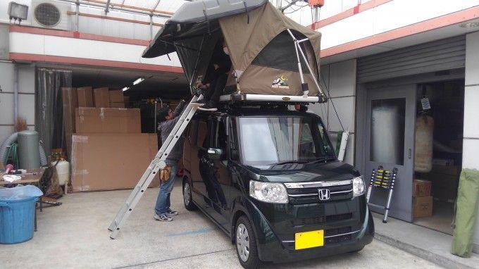 Kimg4377 ルーフテント テント ホンダ Nbox