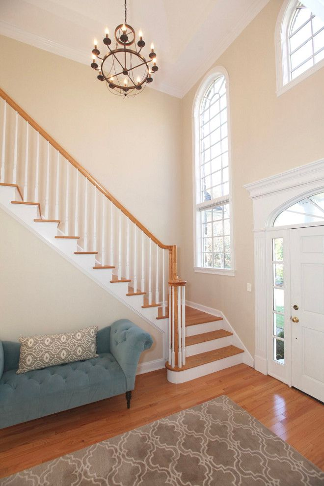 Paint Color: Benjamin Moore White Sand; trim Benjamin ...