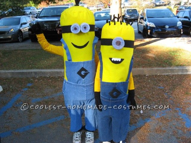 Marvelous Homemade Minion Costumes... This website is the Pinterest of costumes