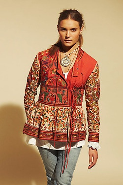 top created of ethnic embroidery…