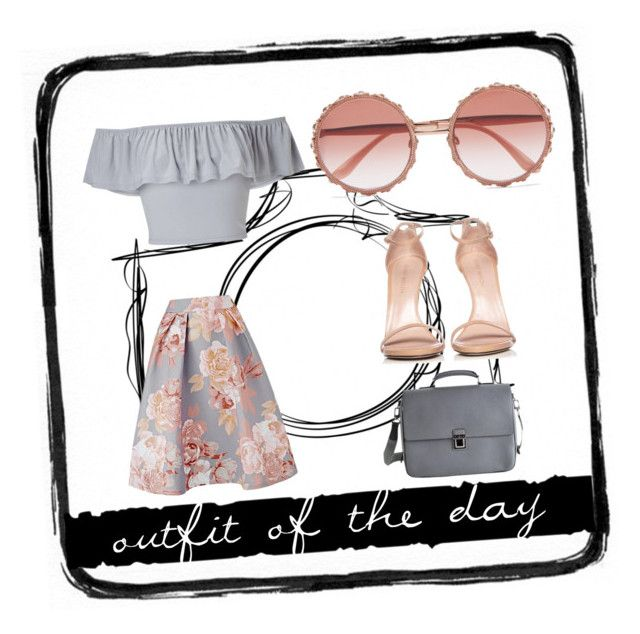 outfit of the day by slytheriner on Polyvore featuring Miss Selfridge, Stuart Weitzman, Louis Vuitton, Dolce&Gabbana and Tim Holtz