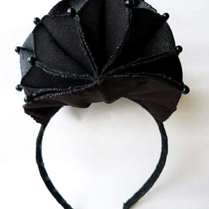 Black Frida Headpiece