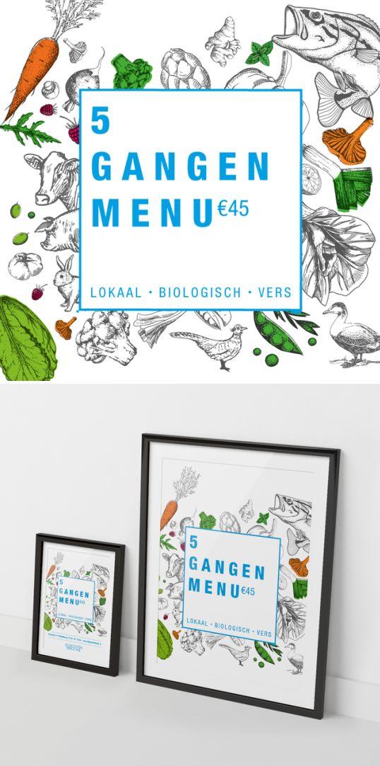 • ONTWERPEN •  Nieuwe '5-gangen menu' stijl ontworpen voor @degoudenbock  #ontwerp #grafisch #drukwerk #vlissingen #reclame #middelburg #kapelle #zilte #zeeland #degoudenbock #menu #restaurant #ilovezeeland