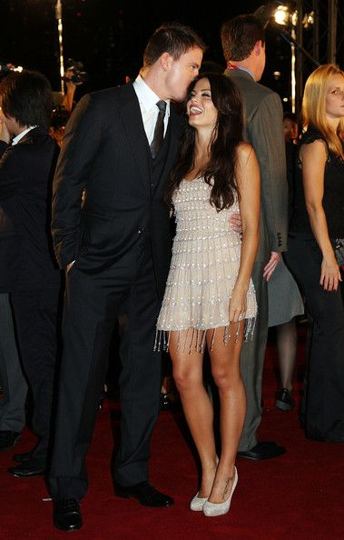Another celebrity couple that i am fond of.  Channing Tatum and Jenna Dewan