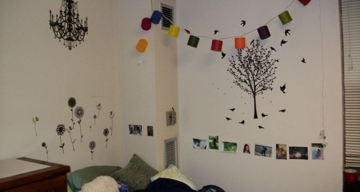 Fascinating Dorm Wall Decor With Creative And Unique Wallpapers
