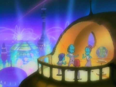 """The video for Daft Punk's dance-pop classic """"One More Time"""" features animation that would later appear in Interstella 5555: The 5tory of the 5ecret 5tar System, a Japanese animated film set to the tune of the duo's entire album, Discovery.    Read more: http://www.rollingstone.com/music/pictures/the-greatest-animated-music-videos-20120131/daft-punk-one-more-time-0249233#ixzz28XEHjcAW"""